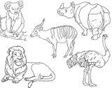 Imprimer le coloriage : Animaux carnivores, numéro 27754