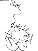 Imprimer le coloriage : Arachnides, numéro 56130