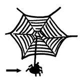 Imprimer le coloriage : Araignée, numéro 130421