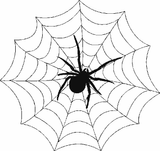 Imprimer le coloriage : Araignée, numéro 130438