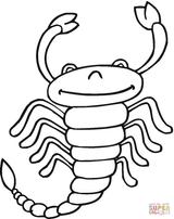 Imprimer le coloriage : Scorpion, numéro 11703d6b