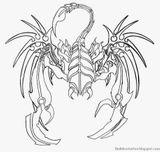 Imprimer le coloriage : Scorpion, numéro 677058