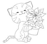 Imprimer le coloriage : Chat, numéro 293