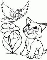 Imprimer le coloriage : Chat, numéro 5d5a511b