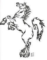 Imprimer le dessin en couleurs : Cheval, numéro 117598