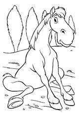 Imprimer le coloriage : Cheval, numéro 141920