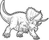 Imprimer le coloriage : Dinosaures, numéro 1be085ee