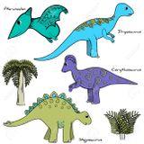 Imprimer le dessin en couleurs : Dinosaures, numéro 1ef95d84