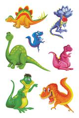 Imprimer le dessin en couleurs : Dinosaures, numéro 208752
