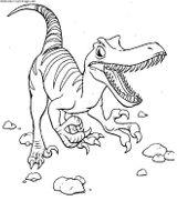 Imprimer le coloriage : Dinosaures, numéro 209536