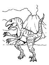 Imprimer le coloriage : Dinosaures, numéro 209538