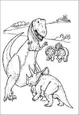 Imprimer le coloriage : Dinosaures, numéro 209540