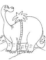 Imprimer le coloriage : Dinosaures, numéro 209542