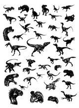 Imprimer le coloriage : Dinosaures, numéro 209545