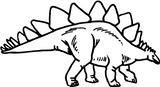 Imprimer le coloriage : Dinosaures, numéro 209554