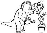 Imprimer le coloriage : Dinosaures, numéro 209555