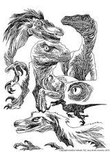 Imprimer le coloriage : Dinosaures, numéro 209559