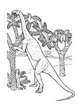 Imprimer le coloriage : Dinosaures, numéro 292638
