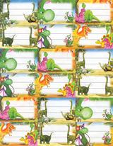 Imprimer le dessin en couleurs : Dinosaures, numéro 614527