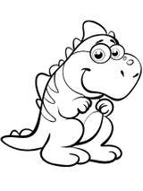 Imprimer le coloriage : Dinosaures, numéro 753891