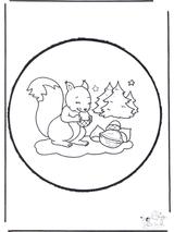 Imprimer le dessin en couleurs : Ecureuil, numéro 276183