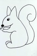 Imprimer le dessin en couleurs : Ecureuil, numéro 539296
