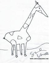 Imprimer le coloriage : Girafe, numéro 14f97c02