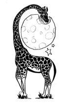 Imprimer le coloriage : Girafe, numéro 1726f57b