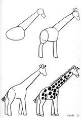 Imprimer le coloriage : Girafe, numéro 245491b4