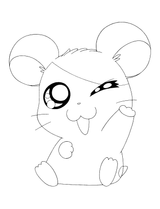 Coloriages A Imprimer Hamster Numero 62090