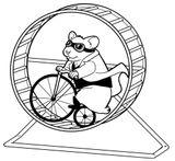 Imprimer le coloriage : Hamster, numéro 18187