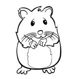 Imprimer le coloriage : Hamster, numéro 686932