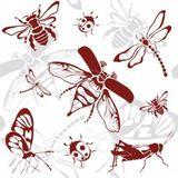 Imprimer le dessin en couleurs : Insectes, numéro 119470