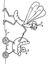 Imprimer le coloriage : Insectes, numéro 161365
