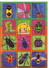 Imprimer le dessin en couleurs : Insectes, numéro 165829