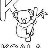 Imprimer le coloriage : Koala, numéro 372cc1b0