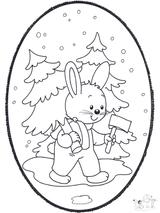 Imprimer le dessin en couleurs : Lapin, numéro 117486