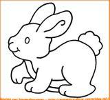 Imprimer le dessin en couleurs : Lapin, numéro 117500