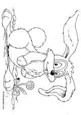 Imprimer le coloriage : Lapin, numéro 141865