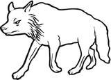 Imprimer le dessin en couleurs : Loup, numéro 117394