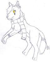 Imprimer le coloriage : Loup, numéro 122fd1fa