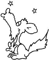 Imprimer le coloriage : Loup, numéro 128415