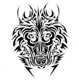 Imprimer le coloriage : Loup, numéro 128433