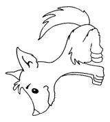 Imprimer le coloriage : Loup, numéro 145905