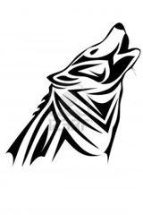 Imprimer le coloriage : Loup, numéro 16832