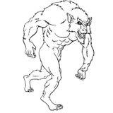 Imprimer le coloriage : Loup, numéro 16840