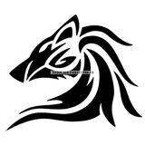 Imprimer le coloriage : Loup, numéro 4022