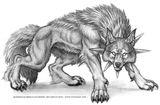 Imprimer le coloriage : Loup, numéro 7811