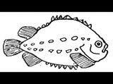 Imprimer le coloriage : Mollusques, numéro 398272