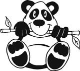 Imprimer le coloriage : Panda, numéro 104545